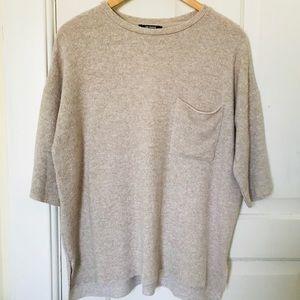 ZARA soft-feel shirt with pocket